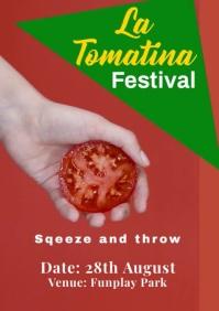 La Tomatina 2 A2 template