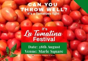La Tomatina 8 A2 template