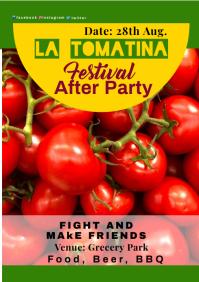 La Tomatina 81 A2 template