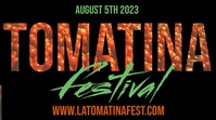 La Tomatina Event Festival Post Template Umbukiso Wedijithali (16:9)