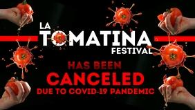 La Tomatina Festival in Covid-19 Template