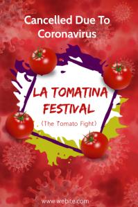 La Tomatina Festival Poster