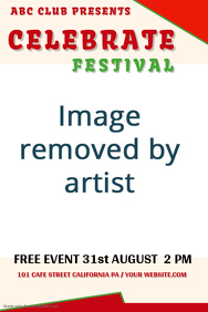 La Tomatina Festival Poster Design