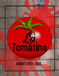 La tomatina flyer