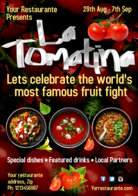 La Tomatina Poster Template