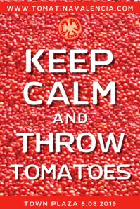 La Tomatina Posterla Template