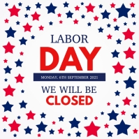 labor day, usa labor labor day Instagram-opslag template