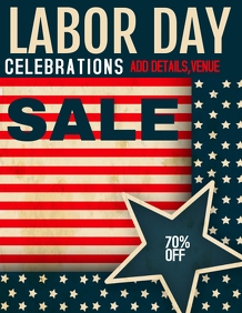 Labor day ,event flyers