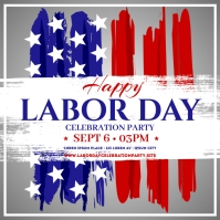 LABOR DAY BANNER Instagram Post template