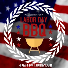 Labor Day Barbecue Invite