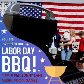 Labor Day Barbecue Invite