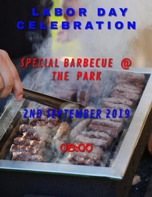 Labor Day Barbecue Special