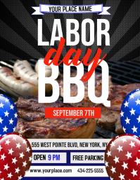 Labor Day bbq,Labor Day barbecue,Labor Day Folder (US Letter) template