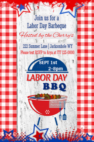 Labor Day BBQ Invitation