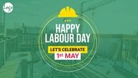 Labor day blog header template