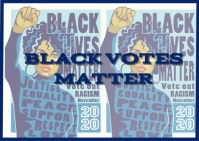 BLACK VOTES MATTER REGISTER TO VOTE Ikhadi leposi template