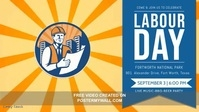 Labor Day Celebration Party Facebook Cover Video