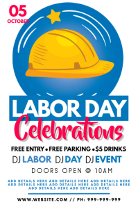 Labor Day Celebrations Poster