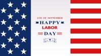 Labor Day Digital na Display (16:9) template