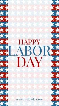 Labor Day Instagram-verhaal template