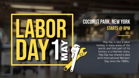 Labor Day Event Facebook Cover Video