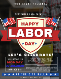 Labor Day Event Flyer