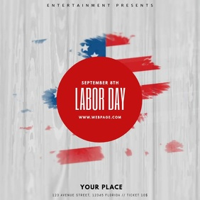 Labor day event video template