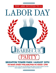 LABOR DAY FLYER. Labor Day Sale. Similar Design Templates