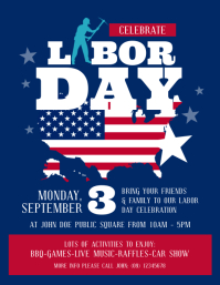 Labor Day Flyer Template