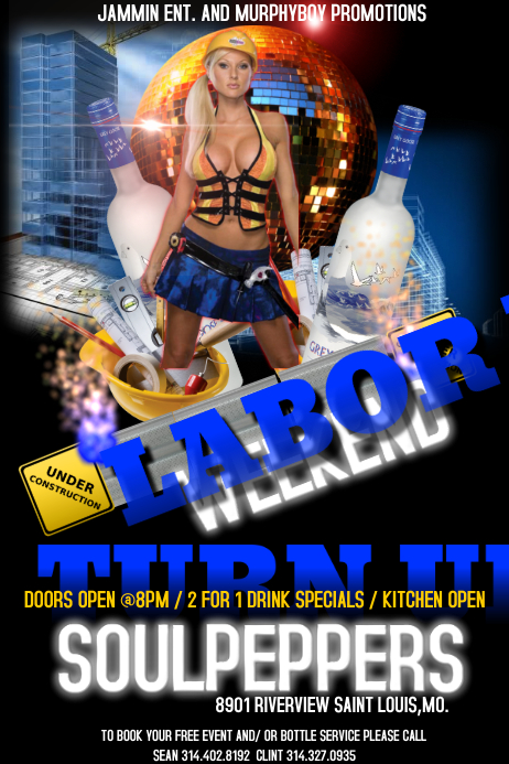LABOR DAY FLYER · Customize Template