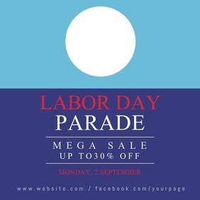 labor day instagram sale banner video templat