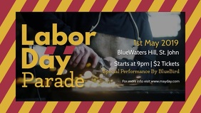 Labor Day Parade Facebook Cover Video