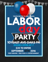 Labor Day Party · Labor Day Flyer