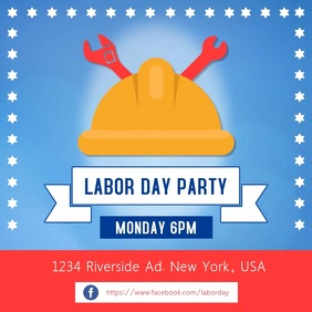 Labor Day Party Instagram Video Template