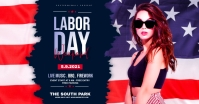 Labor Day Party Template Facebook Ad