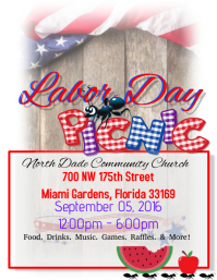 Labor Day Pinic Flyer