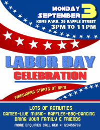 Labor Day Poster Flyer