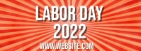 Labor Day Facebook-omslagfoto template