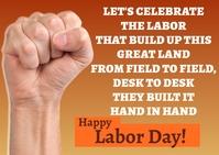 Labor Day Quote A6 template