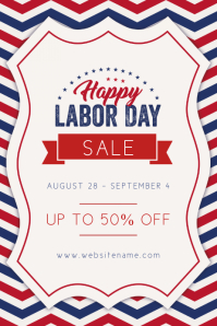Labor Day Poster Templates Postermywall