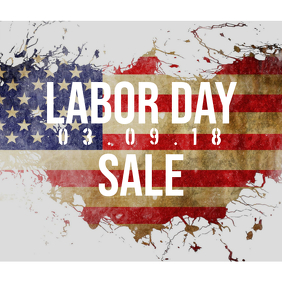 Labor Day Sale instagram promotion