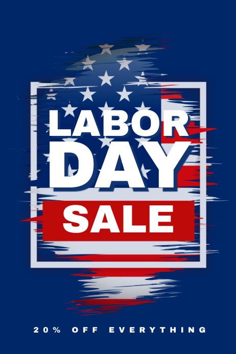 Customizable Design Templates For Labor Day  Postermywall