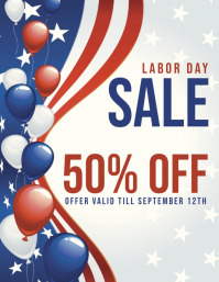 labor day Sale template