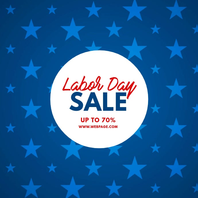 Labor Day Sale Video Template