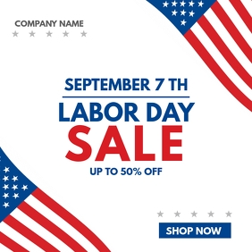 labor day sales advertisement up to 50% off d
