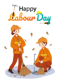 Labor Day Template A4