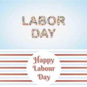 Labor Day Template Design