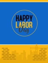 labor day video Iflaya (Incwadi ye-US) template