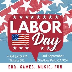 Labor Day Video Invitation