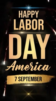 labor day wish wishes social media Template Instagram-verhaal